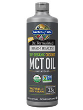Brain Health Organic Coconut MCT Oil