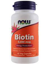 Biotin 5,000 mcg