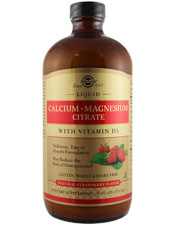 Calcium/Magnesium Citrate W/ Vitamin D3 Strawberry