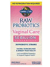 Raw Probiotics Vaginal Care Shelf Stable