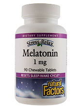 Stress-Relax Melatonin 1 mg
