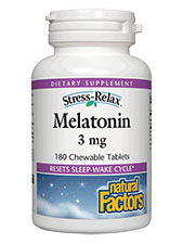 Stress-Relax Melatonin 3 mg