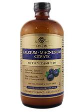Calcium Magnesium Citrate Blueberry