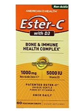 Ester-C with D3 Bone & Immune Health Complex