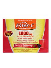 Ester-C 1000 mg Effervescent - Raspberry