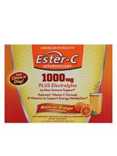 Ester-C 1000mg Effervescent Powder - Orange