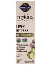 Mykind Organics Herbal Liver Bitter Spray