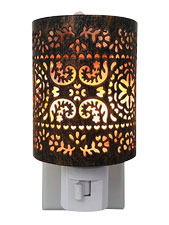 The Moroccan Cylinder Night Light