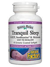 Stress Relax Tranquil Sleep