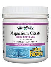Magnesium Citrate Powder Berry
