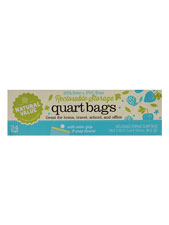 Reclosable Quart Size Storage Bags