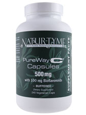 PureWay-C 500 mg W/ 100 mg Bioflavonoids Buffered