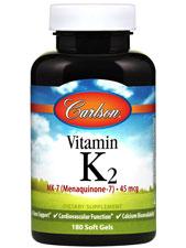 Vitamin K2 MK-7 45 mcg