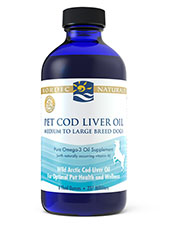 Pet Cod Liver Oil for Dogs & Cats