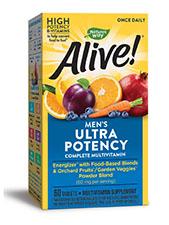 Alive! Men's Ultra Potency Complete Multivitamin