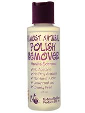 Almost Natural Polish Remover Vanilla Scented