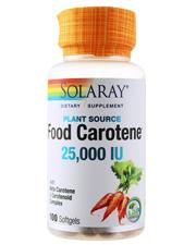 Food Carotene 25000 IU