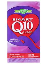 Smart Q10 CoQ10 - Chocolate Flavored 100 mg