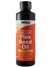 Organic High Lignan Flax Seed Oil