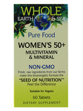 Pure Food Women's 50+ Multivitamin & Mineral