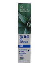 Tea Tree Oil Toothpaste w/ Baking Soda & Mint