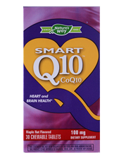 Smart Q10 CoQ10 - Maple Nut Flavored 100 mg