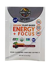 Plant Based Energy + Focus Blackberry Cherry