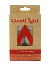 Natural Candles Fig Grapefruit Tea Lights