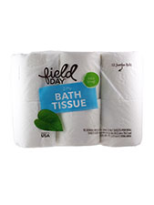 100% Recycled Bath Tissue - 2-Ply 175 Sheet Roll