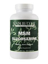 MSM Glucosamine 1500 mg