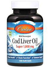 Cod Liver Oil Gems - Super 1000
