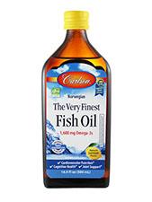The Very Finest Fish Oil - Lemon
