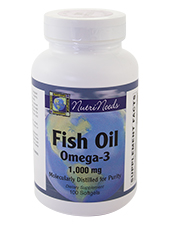 Fish Oil Omega-3 1,000 mg