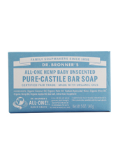 All-One Hemp Baby Unscented Pure-Castile Soap