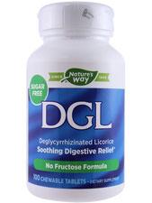 DGL Fructose Free/Sugarless 380 mg