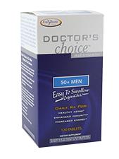Doctor's Choice Multivitamins - 50+ Men