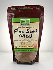 Certified Organic Flax Seed Meal