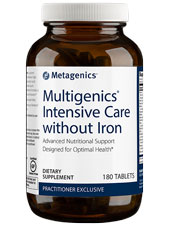 Multigenics Intensive Care without Iron