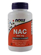 Now Foods - NAC with Selenium & Molybdenum