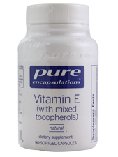 Natural Vitamin E (with Mixed Tocopherols)