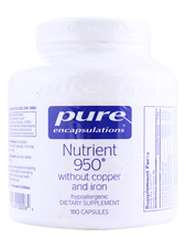 Nutrient 950 without Copper & Iron