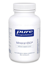 Mineral 650 without Copper and Iron