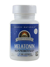 Melatonin Peppermint Flavored Lozenge 1 mg
