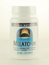 Melatonin Orange Flavored Sublingual 2.5 mg