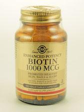 Enhanced Potency Biotin 1,000 mcg
