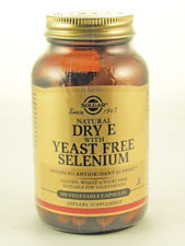 Natural Dry E with Yeast Free Selenium