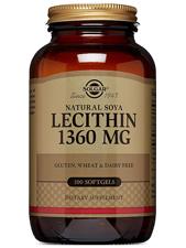 Natural Soya Lecithin 1,360 mg