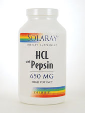 HCL with Pepsin High Potency