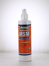 Unscented MSM Liposome Lotion