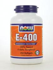 E-400 100% Natural d-Alpha Tocopheryl 400 IU